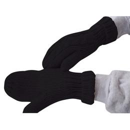 Wholesale Ladies Winter Accessories - Hot Sale Female Gloves Women Thick Warm Ladies Winter Knitted Twist Cotton Gloves Mittens Women's Accessories Chirstmas Gift