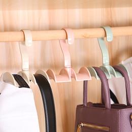 Nouveaux crochets en plastique pour sacs à main Éviter la déformation du sac titulaire étagère cintre suspendu rack organisateur ? partir de fabricateur