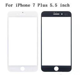 2019 оптовые телефоны для повышения Замена ЖК сенсорный передний сенсорный экран Стекло Внешняя линза для iphone 7 6 4.7 дюймов 5.5 дюймов iphone 5 5S