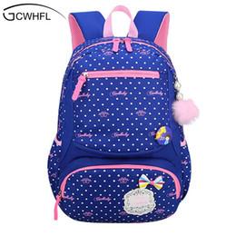 8ba85cb7bb9b Gcwhfl 2017 New Lovely Princess School Bags For Girls Dot Fashion Knapsack  Primary School Backpacks Children Satchel Kids Bolsas