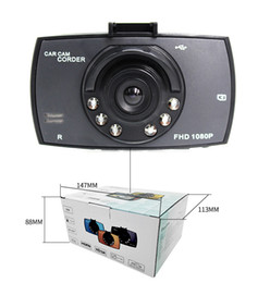 Wholesale Wholesale Dash Cams - G30 2.4INCH Car Dvr 90 Degree Wide Angle Full HD 720P Car Camera Recorder Night Vision G-Sensor Dash Cam 20pcs lot
