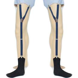 Yeni Varış Erkek Gömlek Kalır Tutucu Askı Ayarlanabilir Elastik Jartiyer Askı Çorap Kaymaz Iç Çamaşırı Aksesuar 2018 Moda Sıcak nereden