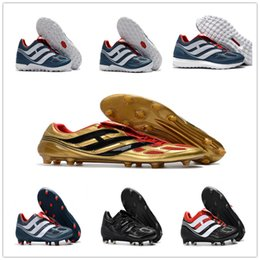 Wholesale limited soccer cleats - 2018 Predator Mania Predator Precision IF IC FG Cleats Ultra Boost Limited Edition Size EU39-45 Soccer Boosts Football Shoes Top Quality