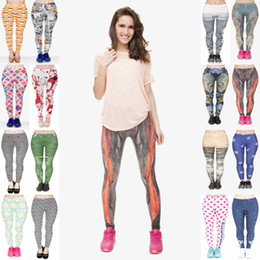 f52ccabc6 Women Leggings Mix 16 Styles Sunglasses Cat Taxi Blood Fingerprint Digital  Hypnose Hexagon Malachite Retro Planet 3D Print Pants Hot (JL025)
