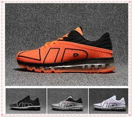 Wholesale Lowest Brand Max - 2018 Name Brand Sneakers Maxes Flair Running Shoes 2017.9 Flair Men Designer Training Runners Outdoor Shoe Mens Hiking Sneakers Size 40-47