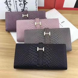 Wholesale Purple Heart Purse - Wholesale-Luxury wallet woman handbag bag passport ID credit card holder cowhide clutch genuine leather wallet beautiful female lady purse