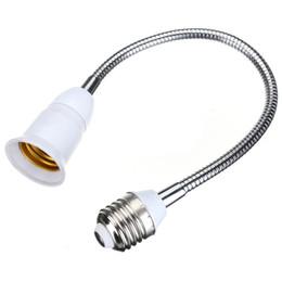 Wholesale Flexible Socket - E27 to E27 Lamp socket Adapter holder flexible 40 cm