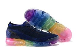 Wholesale Tpu Sports Shoes - New Vapormax 2 TPU Mens Running Shoes Men Women Sneakers Fashion Athletic Sport Shoe Hot Corss Hiking Jogging Walking Outdoor Shoes