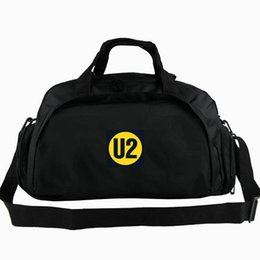 Wholesale Luggage Bands - U2 duffel bag Paul David Hewson tote Rock band backpack Leisure luggage Sport shoulder duffle Outdoor sling pack