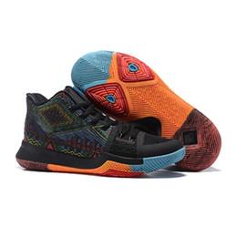 Wholesale Aqua Blue Top - Top Basketball Shoes Men Bruce Lee kobe Shamrock silt red Aqua Mom university red all star Sneakers xz10