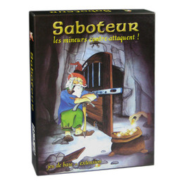 """Wholesale Extension Boards - """"Saboteur """"Board Game 1+2 Version Jeu De Base+Extension Board Game With English Instructions Family Board Game"""