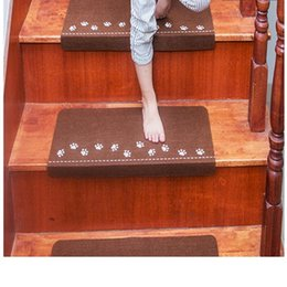 Alfombras alfombras online-2018 OuneedLuminous Visual Stair Alfombra Alfombra antideslizante Escalera Mats Safe Treads Soft 0514SW