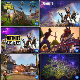 Wholesale internet games - Hot Game Poster Fortnite Battle Royale Wall Painting Wall Pictures For Internet Bar Home Furnishing Decoration 11 99hz UU