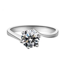 Anelli unici per i disegni delle donne online-ShiPei Unique Design Engagement Rings 2CT Zircone cubico Nuovi anelli di arrivo per le donne