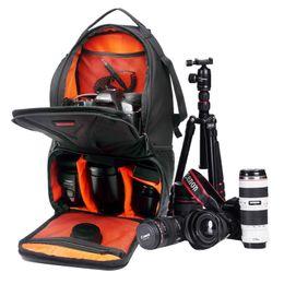 Wholesale ipad professional - Professional For iPad Camera Video Bag DSLR Camera Bags Xiaomi SJCAM Action Cam Sports Backpack