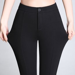 Wholesale ladies business trousers - Spring Formal Pants for Women Office Lady Style Work Wear Flare pants Female Clothing Business Design Trousers