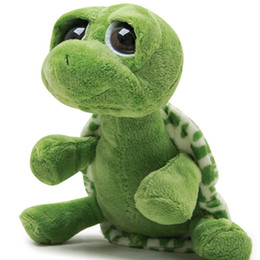 Wholesale Cute Turtle Plush - Cute big eyes turtle parent-child baby turtle plush toy doll gift activities gifts children's plush animal toys green turtle