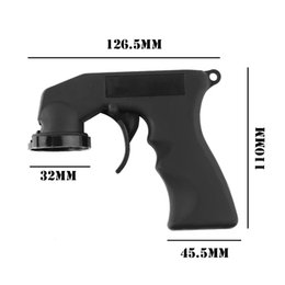 Wholesale Spray Triggers - 1 Pcs New Aerosol Spray Can Handle with Full Grip Trigger for Painting Car Styling