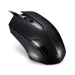 Wholesale office works computers - Wired USB Computer Mouse Optical 3D Gaming Mouse Laptop PC for Work Business Office Professional Mice 1200DPI MJ03 ~Black