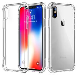 iphone luft zurück Rabatt 1,5mm hohe qualität transparent tpu stoßfest luftpolster rückseitige abdeckung telefon case für iphone 7 8 plus xr xs max samsung note 9 s8 s9 s10 plus