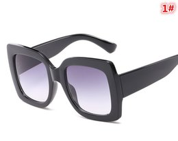Vogue Sunglasses High-grade Ma'am nuovo prodotto Retro Large frame Color frame Sunglasses Best-seller vendita al dettaglio all'ingrosso all'ingrosso 1 # - 7 # J494 # da
