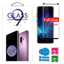 Pellicola proteggi schermo in vetro temperato per Samsung Galaxy S9 Plus S9 S8 Plus S8 Plus 8 Edge S6 Edge da confezioni per animali domestici fornitori