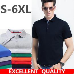 Wholesale Jersey Plus Size Shorts - New 2018 Men's Polo Shirt For Men Desiger Polos Men Brand LOGO Embroidery Cotton Short Sleeve shirt clothes jerseys golftennis Plus Size