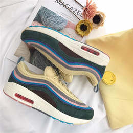 Wholesale Quality W - 2018 97 Sean Wotherspoon x 97 VF SW Hybrid Running Shoes For Men Women Authentic Quality 1 97 Sports Sneakers With Original Box