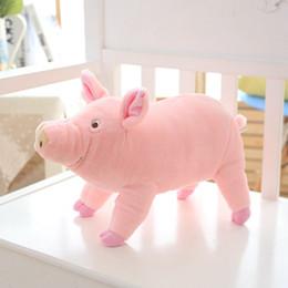 Wholesale Doll 38 - Nooer 38 65cm Kids Favor Lovely Soft Plush Pig Toys For Children Stuffed Animals Pig Doll Baby Child Birthday Gift Free Shipping
