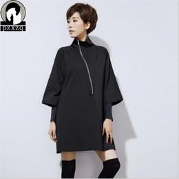 Wholesale plus size three quarter black jacket Group Buy