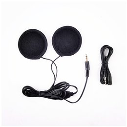 Wholesale Speakers For Motorcycles - 1 pair Motorbike Motorcycle Helmet Headset Stereo Speakers Earphone for MP3 MP4 phone