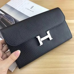 Wholesale Christmas Cover Photos - Free Shipping famous designer brand leather wallet, men's short wallet fashion classic wallet and wallet box