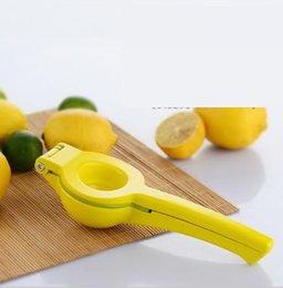gadget lemon squeezer Promo Codes - Double Bowl Lemon Squeezer Orange Tool Citrus Press Manual Lime Juice Maker Kitchen Gadgets wn523 20PC