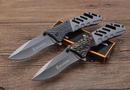 Prezzo del coltello caldo online-vendita calda sopravvivenza campeggio coltello browing nuovo pieghevole coltello A339 2 stili 440blade 58HRC colore boxwholesale prezzo utensili esterni EDC