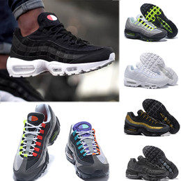 848204c40b7 Nike Air Max 95 OG basketball shoes 2018 Men 95 OG Cuscino Navy Sport di  alta qualità Chaussure 95s Walking Men casual Shoes Cushion 95 Sneakers  Taglia 40- ...