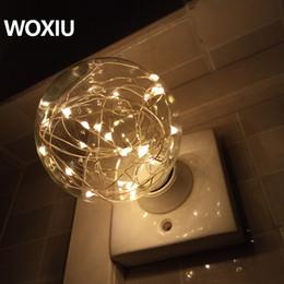 WOXIU llevó bombillas de cobre, luces de hadas, luces retro, iluminación nórdica creativa para cumpleaños, fiesta de bodas, decoración, vacaciones desde fabricantes