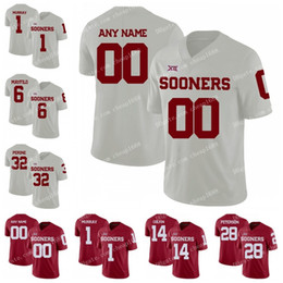 f9e385169 Oklahoma Sooners  81 Mark Andrews 21 Marcelias Sutton 28 Chanse Sylvie  Reggie Turner 2018 Red White Stitched NCAA College Football Jerseys