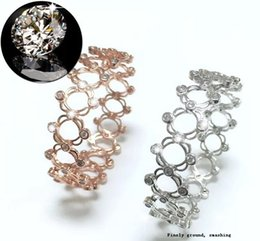 S925 true стерлингового серебра кольцо браслет можно регулировать для телескопической двойного использования можно изменить браслет сети Красный вибрато с тем же ri от