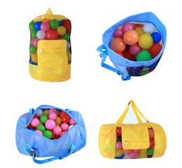 Wholesale Wholesale Beach Stuff - kids Toy Bag Sandy Beach Pouch Toy Storage Shells Pouch Tool Bag Organizer Shell Receive Storage Bags 30*58CM BBA198 150PCS
