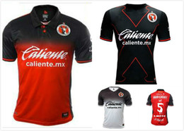 Wholesale Corona Black - Thailand's quality17 18 Mexico Club LIGA MX 3rd Xolos de Tijuana 2018 Charly Third Home away Soccer Jersey Black CORONA LUCERO football shi
