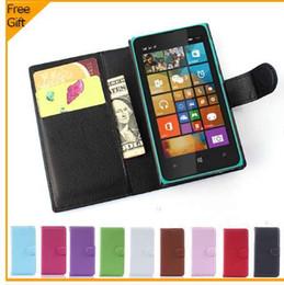 Lüks Cüzdan Deri Flip Case Kapak Nokia Microsoft Lumia 532 Için Çift SIM Kart Tutucu Ile Cep Telefonu Kılıfı Arka Kapak Standı supplier sim stands nereden sim takımı tedarikçiler