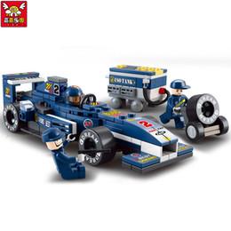 2019 construir carros rc f1 rc Crianças Educativas !! 196 pçs / set F1 Blocos de Construção de Carro de Corrida de Carro Figura de Ação Brinquedo Toy Kids Puzzle Presentes construir carros rc barato