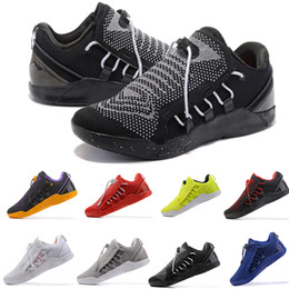 Wholesale Ad Flat - 2018 Mens KOBE A.D. NXT 12 men KB Volt Running shoes KOBE AD Zoom Sport Shoes Cheap Running Outdoor Shoes Eur 40-46