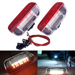 2PC voiture LED porte voyant de bienvenue projecteur pour VW Passat B6 B7 CC 7 6 Jetta MK5 MK6 Tiguan Scirocco ? partir de fabricateur