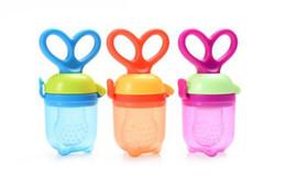 Wholesale Nipple Baby Bottle - Baby Pacifier Fresh Food Milk Nibbler Feeder Kids Nipple Feeding Safe Baby Supplies Nipple Teat Pacifier Bottles