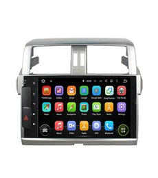 Wholesale Toyota Car Stereo Gps - 10.1inch 1024*600 4GB RAM Octa Core Android 8.0 Car DVD Radio player for Toyota PRADO 2014 2015 with GPS Navigation 3G 4G WIFI