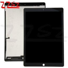 Wholesale Ipad Touch Screen Digitizer - Wholesale for iPad Pro 12.9 LCD Touch Screen Display Digitizer Assembly Replacement OEM A+++ Quality Black with free shipping