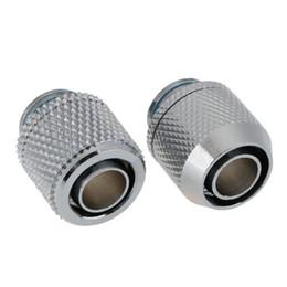 G1 / 4 raccord fileté double pagode à filetage plat connecteur de tube souple pour tube de système de refroidissement à eau PC 9,5 x 12,7 mm ? partir de fabricateur