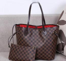 560efd7854 Nouveau 2018 Famous Classical Women Sac à bandoulière Top qualité célèbre  femmes sac fourre-tout décontracté avec portefeuille sacs à main en cuir PU  sacs ...