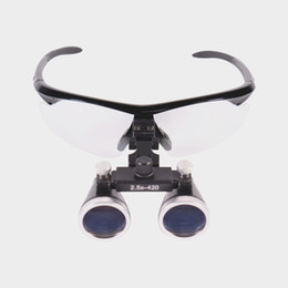 Wholesale Loupe Glasses Dental - Dental Hygienists Surgical Binocular Loupe Glasses Lens Magnifier 2.5 X Dentist Black